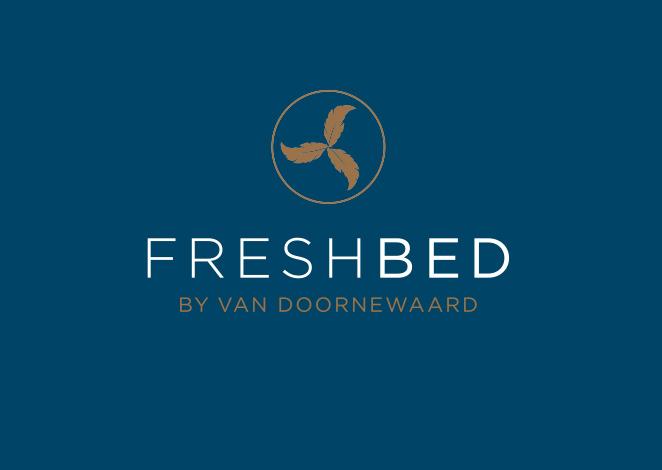 Logo gemaakt door Studio Tango voor Freshbed